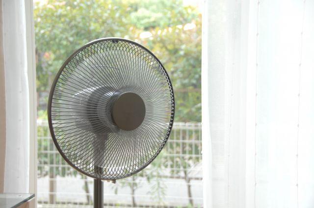 扇風機の効率の良い配置と使い方