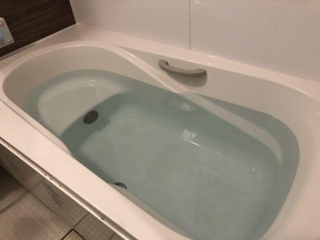 夜中 風呂